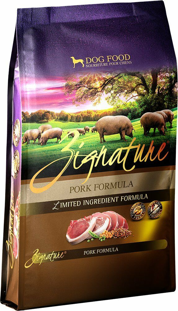 ZIGNATURE Dog Food Pork (27 lb)