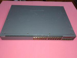 Details about Juniper EX3300-24P 24-Port 10/100/1000BaseT PoE+ w/ 4 SFP+  Ports Switch MMN