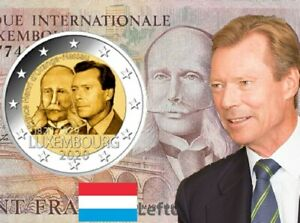 2-euro-2020-Luxembourg-Lussembrgo-Luxemburg-Luxemburgo-Henri-Orange-Nassau