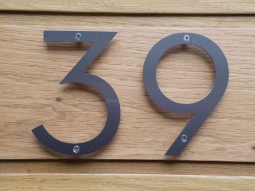 FAST FREE UK DELIVERY NEUTRAFACE Stainless Steel Door Numbers