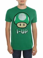 Nintendo Super Mario Bros. 1-up Mushroom T-shirt