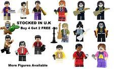 Music Legends Minifigure Lego &Custom Michael Jackson Kiss Elvis The Beatles BTS