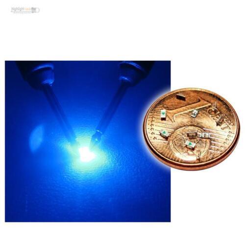 50 x LED SMD 0603 azul-azul mini LEDs inauguraba Blue bleue azzurro blauw azul
