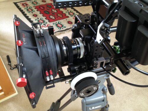 Seamless Follow Focus Gear for Canon FD 20mm f//2.8 Chrome Breach Lock Lens