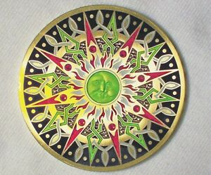 Compass-Rose-10th-Anniversary-Puppis-Edition-New-Unactivated-Geocoin
