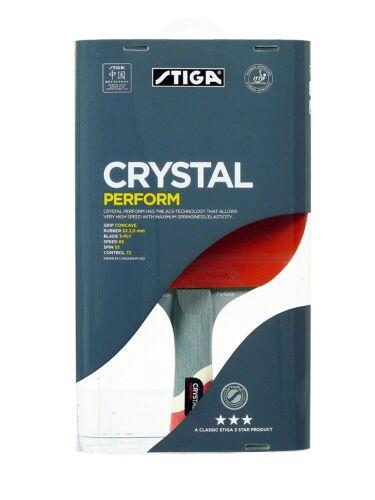 STIGA 3 STAR Crystal effectuer TABLE TENNIS BAT