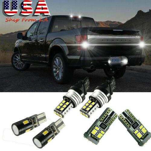 Backup /& High Mount Lights Combo Kit For 2018-19 Ford F-150 LED License Plate