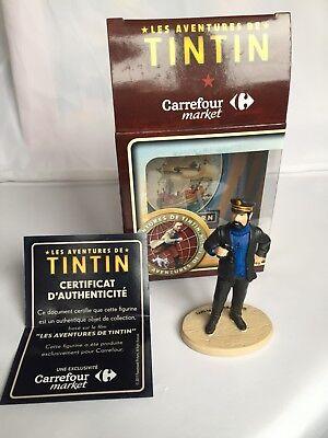 Statuette résine Tintin Capitaine Haddock Carrefour Market
