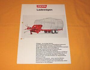 Ladewagen WE 419 L 197704 Fahr Prospekt 05//1972