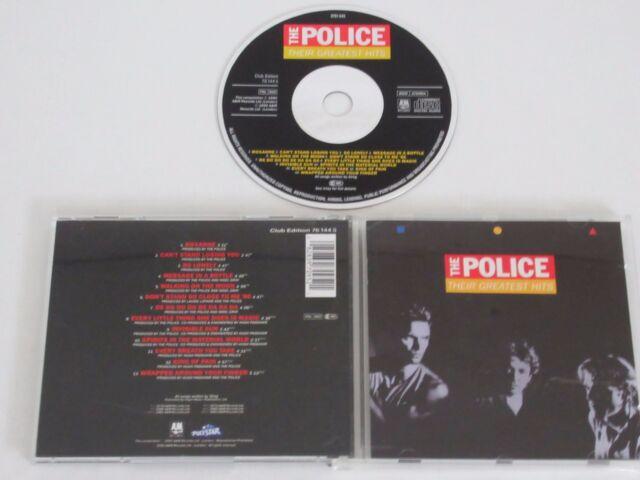 THE POLICE/THEIR GREATEST HITS(POLYSTAR 76 144 5) CD ALBUM