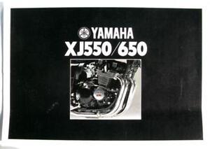 YAMAHA-XJ550-amp-XJ650-Motorcycle-Sales-Brochure-1981-LIT-3MC-0107509-81