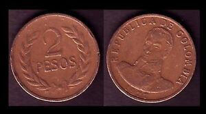 COLOMBIE-COLOMBIA-2-PESOS-1977-E8