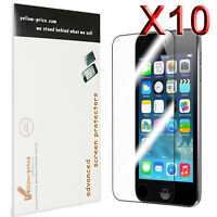 10pcs Clear Reusable LCD Screen Protector Cover Guard for iPod Touch 5 5th Gen.