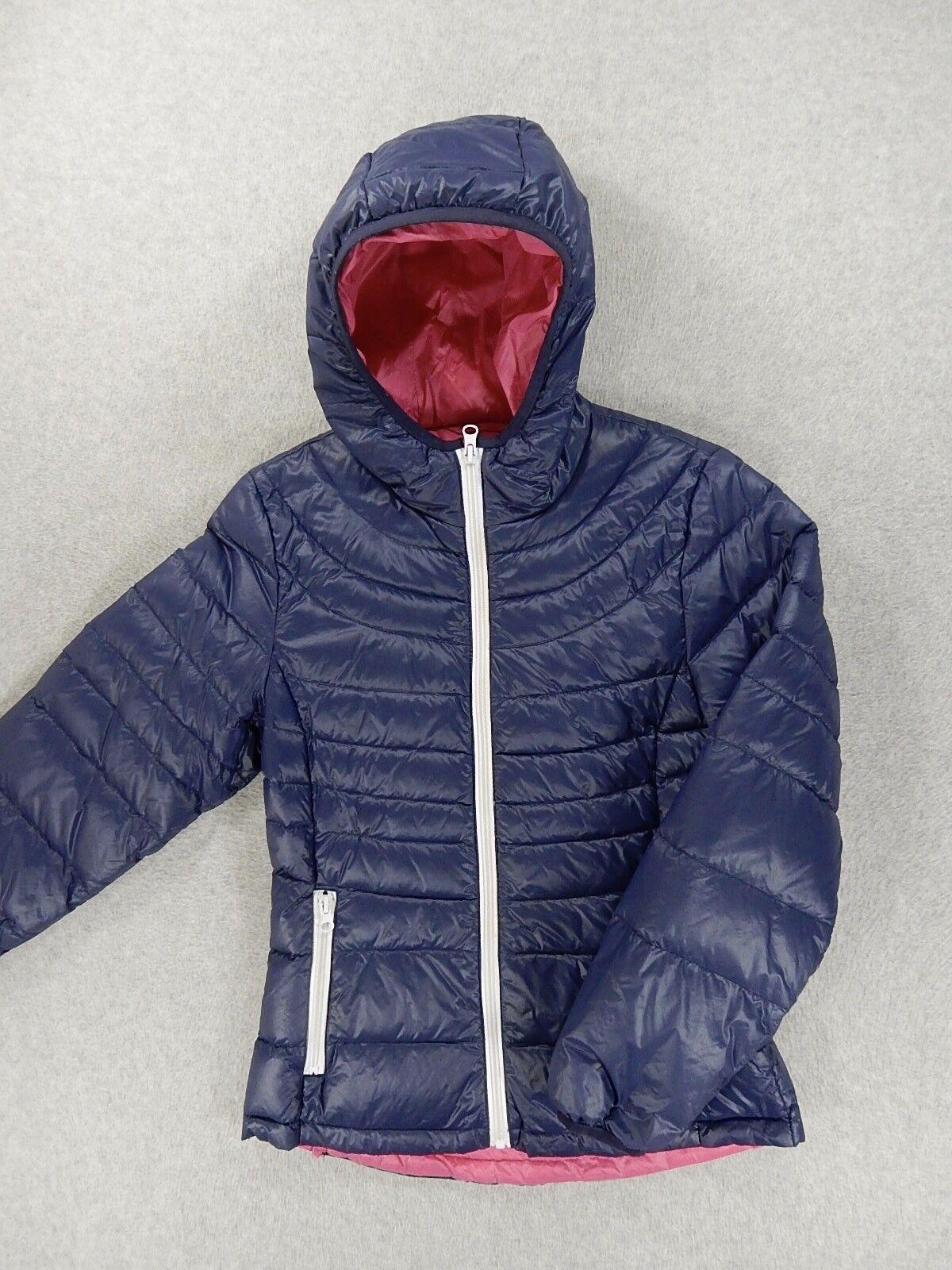 Chaqueta con capucha con aislamiento de la colección B Down (Juventud 10/12) Azul