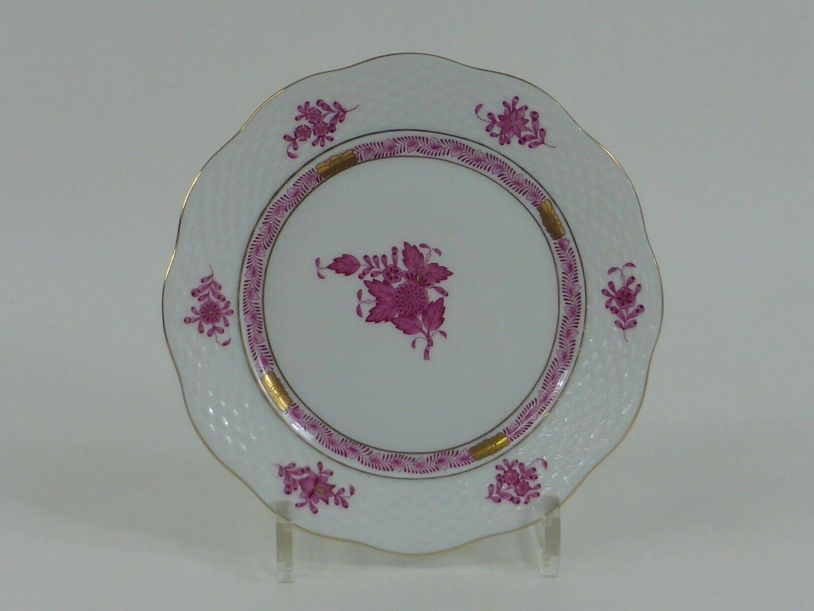 Image 1 - Herend-APPONYI-Purple-Cake-Plate-Model-517