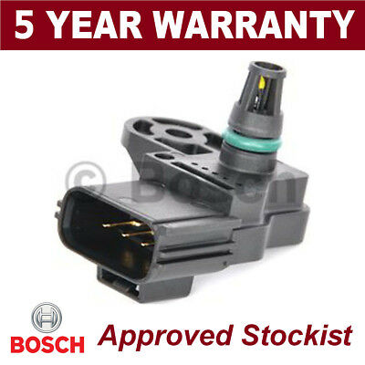 GENUINE 5 YEAR WARRANTY Bosch MAP Sensor Boost Pressure Manifold 0261230224