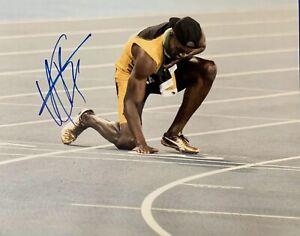 USAIN-BOLT-Original-Signed-Autographed-11X14-OLYMPICS-Photo-COA-Authentic-03