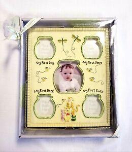 Winnie The Pooh Baby Milestone Large Frame 11 X 9 Disney