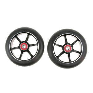 2Pcs 110mm Professional Stunt Scooter Wheel Metal Core with Abec-9 Bearings