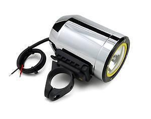 Trail Tech 4213-SX-175 Silver 1.75 Clamp Spot 30W Single SCMR16 HID Frame Mount Light