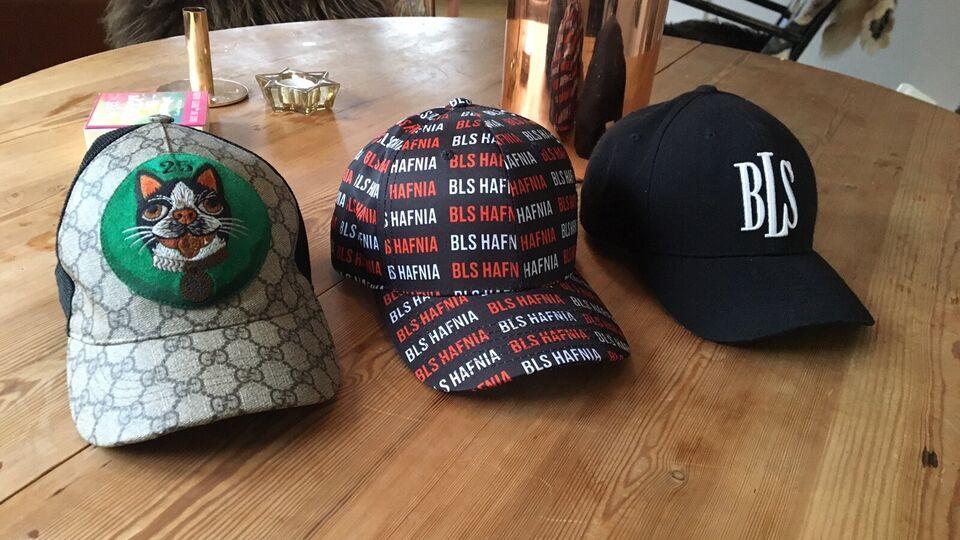 Cap, Gucci & 2 stk. BLS, Se billeder