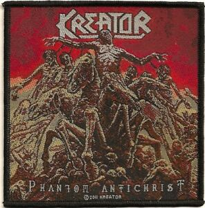 Official-Licensed-Merch-Woven-Sew-on-PATCH-Metal-Rock-KREATOR-Phantom-Antichrist