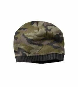 753683c19cb GAP Baby Boys Size 0-6 Months Green Camo   Camouflage Sweater Hat ...