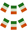 24ft-IRELAND-IRISH-ST-PATRICKS-DAY-PARTY-DECORATIONS-BUNTING-RUGBY-FLAGS-QR36 thumbnail 1