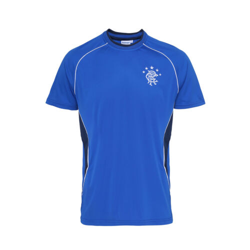 Football Rangers FC Adults T-Shirt OF900 Short Sleeve Crew Neck Sports T