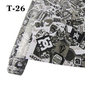 30cm-152cm-Cartoon-Stickerbomb-Graffiti-Car-Bomb-Vinyl-Wrap-Decal-Sticker