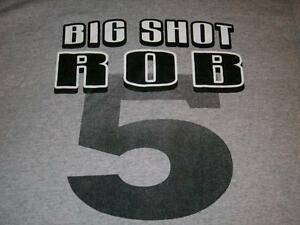 38032ecc Robert Horry 5 San Antonio Spurs NBA Big Shot Rob Gray T-shirt Men's ...
