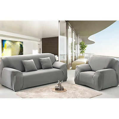 New Slipcover Solid Color Soft Eco-Friendly Sofa Cover Modern Household Decor