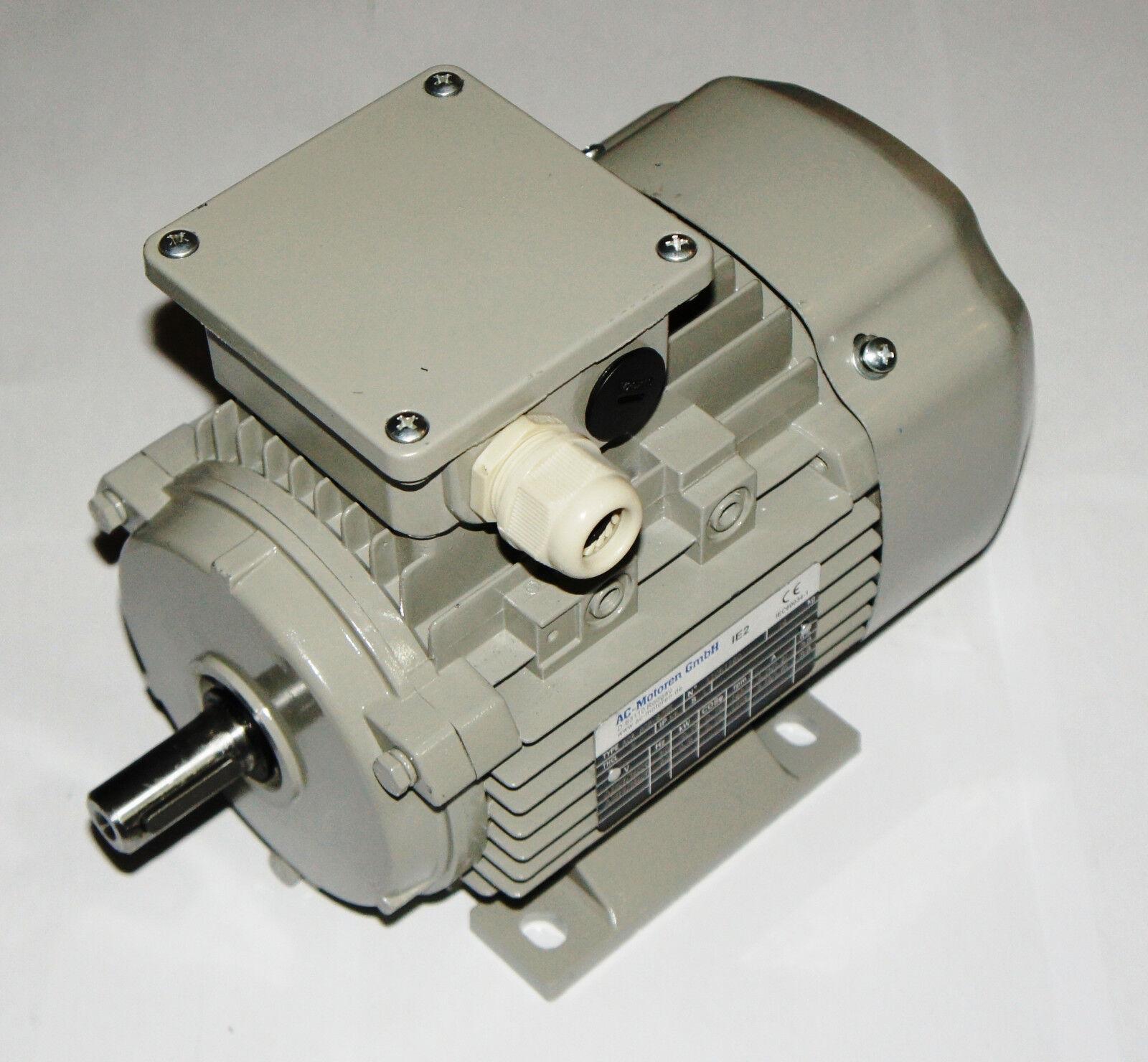 AC Motoren GmbH - Motor Elektromotor  ACA 80A-4 - 0,55 KW 230 400V