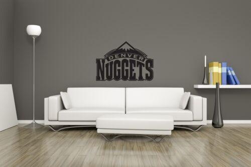 Enorme Denver Nuggets Basketball NBA Vinilo Pegatina Calcomanía Pared Arte//cueva de hombre