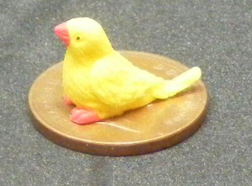 1:12 SCALA FIMO Yellow Bird con Piedi Rosso /& Becco tumdee casa delle bambole Z