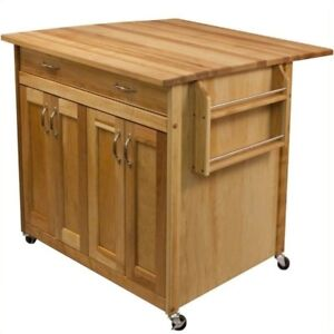 Tremendous Catskill Craftsmen Deep Kitchen Island With Flat Panel Doors And Drop Leaf Squirreltailoven Fun Painted Chair Ideas Images Squirreltailovenorg