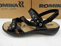 Romika Womens Sandals Ibiza 70 Black Size Eu 41