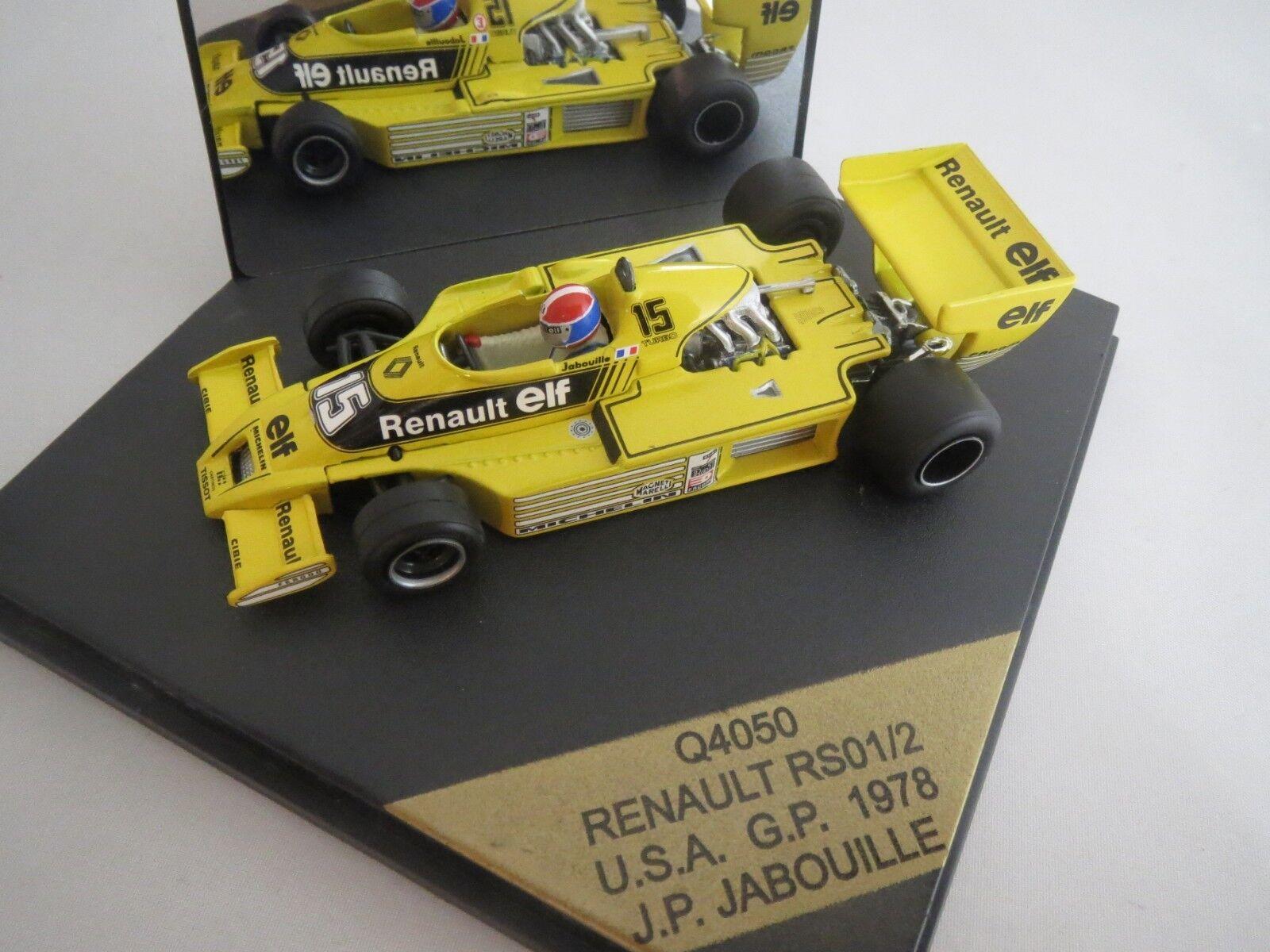 Quartzo Quartzo Quartzo Q4050  Renault  RS01 2  (J.P. Jabouille)  U.S.A GP   1978  1 43    5672ac