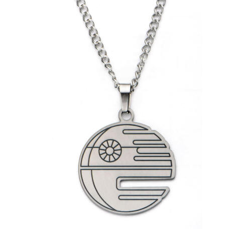 Star Wars Death Star Flat Cut Out Pendant Necklace