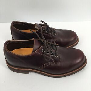 LL-Bean-Chippewa-Men-039-s-Oxford-OPGL1-Shoes-Cordovan-US-Size-7-5-EE