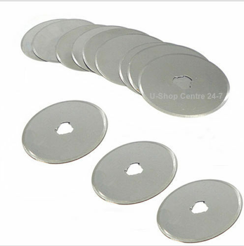 Rotary Cutter Blade 2//5pcs 28//45//60mm Patchwork Leather Fabric Paper Cut Blades