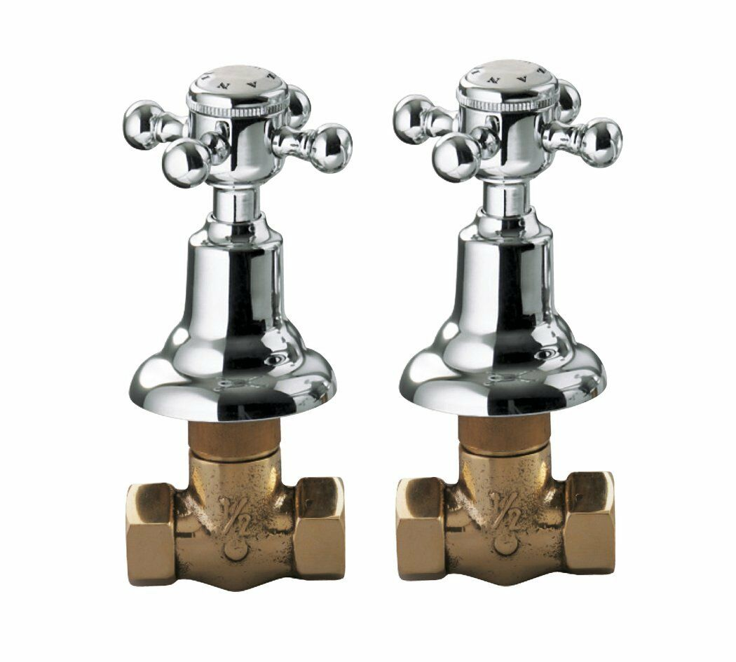Coppia rubinetti incasso da 1 2 adams ottone cromato Palazzani 5 anni garanzia