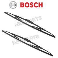 Mercedes W123 (late) Wiper Blade Set (x2) 20'' Bosch Windshield Windscreen