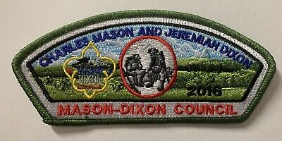 LOT OF 3 COLORS Mason Dixon Council 2020 Virtual Scouting at Home Pandemic CSP