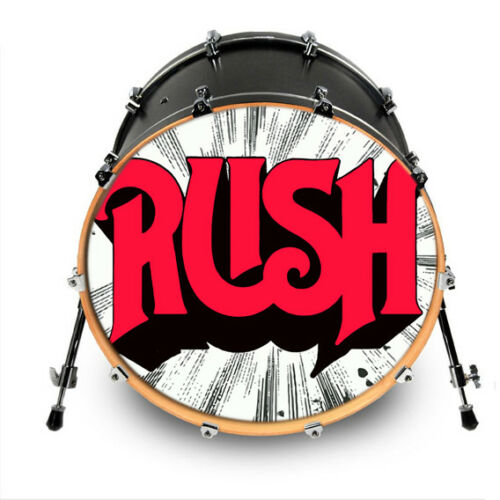 "Custom Bass Drum Head Vinyl Decal 24/"" Your Art Design Kick Decal Wrap Sticker"