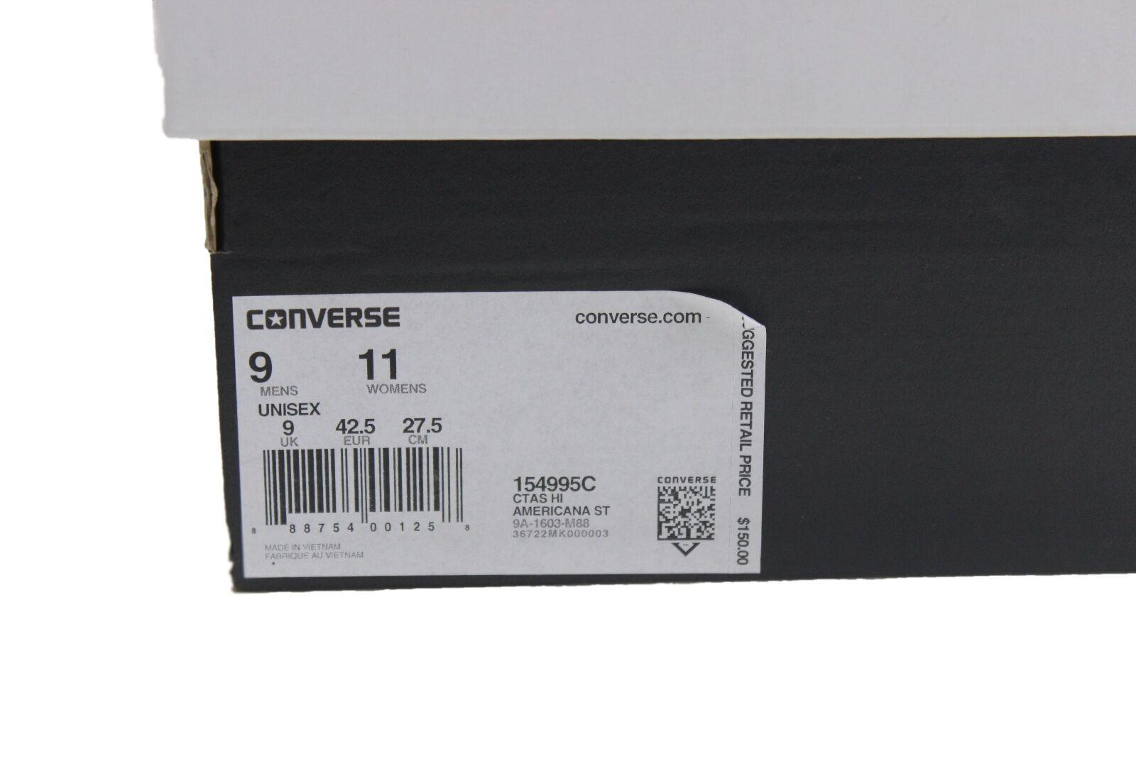 Converse boston chuck taylor hohem americana streifen boston Converse ausgabe 154995c 150 usa b2257c