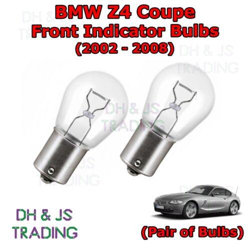 Bulb Lights 382 12v 21w 02-08 BMW Z4 Coupe Front Indicator Light Bulbs