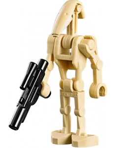 x2 75280 Original Lego Star Wars Battle Droid Minifigure Lot Of
