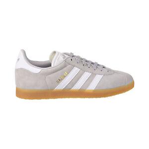 Details about Adidas Gazelle Mens Shoes Grey Two-Cloud White-Gum DA8873