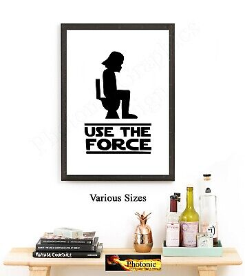 Star Wars Print art Quotes Storm trooper Picture Poster Print ONLY A4 prints